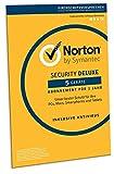 Norton Security Deluxe 2019   5 Gerte   1 Jahr   PC/Mac/iOS/Android   Download, Aktivierungscode in...