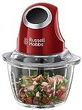 Russell Hobbs Mini Zerkleinerer Desire, Ein-Hand-Bedientaste, 500ml Glasbehälter inkl. Deckel,...