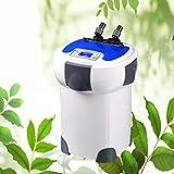 CanKun 3000L / H LCD Display 4-Stufen Aquarium Außenfilter Mit 9W UV Sterilisator Für Aquarien Bis...
