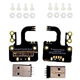 Adanse 2 Stücke Micro-USB, zum Eines USB Brett Erweiterungs Brett USB Spg.Versorgungs Teils für...
