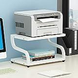 PUNCIA Office Desktop-Laser-Multifunktionsdrucker Kopierer Scanner Regalständer Rack mit...