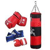Boxen Heavy Punching Training Bag, Kinder Kinder Boxen Heavy Punching Training Bag Fitness Sandsack...