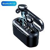 perlo33ER T2 Mini In-Ear Wireless Bluetooth 5.0 Kopfhörer Sport Ohrhörer Mit Ladestation Gut...
