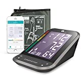 1byone Oberarm-Blutdruckmessgeräte, Wireless Digitale Oberarm-Blutdruckmessgeräte mit Arrhythmie...