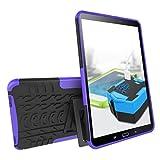 FEITE Shock Hybrid Case Stand Cover für Samsung Galaxy Tab A 10.1 2016 T580, violett
