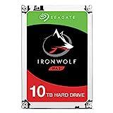 SeagateST10000VN0004 IronWolf 10 TB NAS intern Festplatte (8, 9 cm (3, 5 Zoll), 7200 u/min, 256 MB...