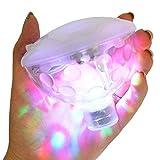 Bestland Multifarbige Unterwasser-LED mit RGB und 5 Modi Disco Beleuchtung Licht Badewanne LED...