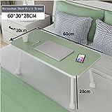 Lazy Betttisch, multifunktionaler Laptop-Tisch für Bett, Lernen, Büro, 6 Farboptionen, 60 x 30 x...