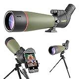 Gosky 2019 Spektiv Vogelbeobachtung 20-60 x 80 Porro Prism Spektiv für sportschützen -...
