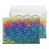 Creative Shine 43EF394 Briefumschlag Metallisch Mit Holo Effekt Haftklebung Wasserkaskade C5 162 x...