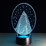 Snow Mountain 3D LED Nachtlicht USB Tischlampe Anpassen Touch Acryl Tischlampe Kinderzimmer Led...