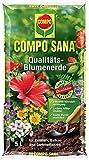 COMPO SANA Qualitäts-Blumenerde mit 8 Wochen Dünger für alle Zimmer-, Balkon- und Gartenpflanzen,...