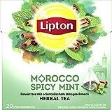 Lipton Kräutertee (für einen orientalischen Teegenuss Marokkanische Minze aus nachhaltigem Anbau)...