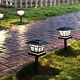 Solar Licht Garten Led Solar Licht Solar Laterne Stake Wasserdichte Lampe Stake Path Beleuchtung...
