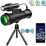 12x50 Hd Nachtsicht-Monoskop-WiFi-GerT, Ios Und Android-Smartphone-App FR Vogelbeobachtung, Jagd,...