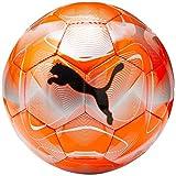 PUMA Unisex– Erwachsene Future Flash Ball Fußball, NRGY Red-Silver-Grey Dawn Black, 5