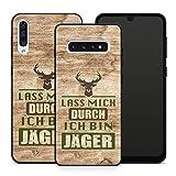 Handyhlle Jagd fr Samsung Silikon Hlle Geweih Jger Spruch Sprche Pirsch Wald Horn Waidmann,...
