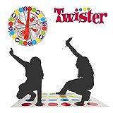 YOTINO Twister-Spiel, Balance-Spiel, Geschicklichkeitsspiel für Kinder & Erwachsene, Partyspiel,...