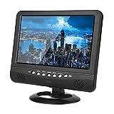 Naroote 9,5'tragbare LCD-Analog-Auto-Mobilfernsehfernsehfernbedienung 110-240V
