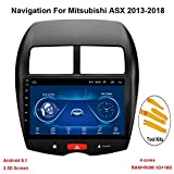KEYI Autoradio Auto GPS Navigation Fahrzeug für Mitsubishi ASX 2013-2018 mit Android 8.1 10.1 Zoll...