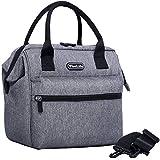 WiseLife Isolierte Lunchtasche für Männer und Frauen Erwachsene, Kühlbox mit verstellbarem...