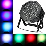 LED Par Licht Bühnenbeleuchtung Strahler Ton Steuerung Strahler Scheinwerfer Licht Effekt für...