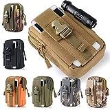 VSJWJ GüRtel Taille Pack Tasche Laufen Telefon Tasche, wasserdichte MilitäRische GüRtel Taille...
