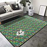 ruziniujidiangongsi Carpet Contemporary Rugs Office Area Rug Living Room Dining Area Rugs 84x60 Inch...