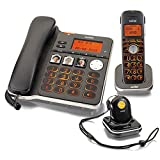 Switel D300 Vita Comfort DECT Telefon Set mit Mobilteil, Notruf-Anhnger, groen beleuchteten Tasten...