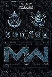 Call of Duty: Modern Warfare Fractions Poster (61cm x 91,5cm) + Original tesa Powerstrips (1 Pack/20...