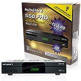 Morgan's S50 FHD digitaler Satelliten Sat-Receiver (HDTV, DVB-S2, HDMI, SCART, USB 2.0, Full HD...