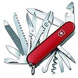 Victorinox Taschenmesser Handyman (24 Funktionen, Kombizange, Holzmeissel, Metallsge) rot