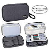 Luxja Diabetikertasche für Unterwegs, Tasche für Blutzuckermessgeräte und Diabetiker Zubehör...