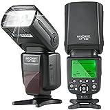 K&F Concept KF882 i-TTL Blitz Flash Blitzlicht Blitzgerät für Nikon Kamera Leitzahl 58 mit HSS...