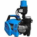 Güde 94226 Hauswasserautomat HWA1100 VF, 1100 W, 230 V, Schwarz, Blau