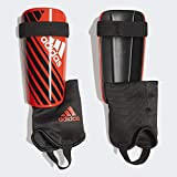 adidas X Club Shin Guards, Active red/Black/Off White, L