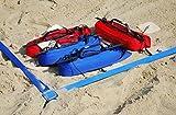 Turnier Beachvolleyball Linien 16x8m, Breite 5cm - Official Spielfeldmarkierung Volleyball Size Sand...