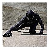 ZTWZZX Marvel Avengers Spider-Man Venom Kostüm Film Kostüm PS4 Anime Kostüme Herren Superheld...