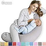 Sei Design Stillkissen Schwangerschaftskissen 170 x 30 cm, Füllung: schadstoffgeprüfte 3-D...