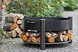 BlackOrange Feuerschale Wood-Stock mit 70 cm Durchmesser