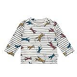 Noppies Baby-Jungen B Regular T-Shirt ls Apollo Beach AOP Langarmshirt, Mehrfarbig (Whisper White...
