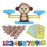 Sarplle AFFE Mathe Waage Spielzeug Digitalwaage Früherziehung Balance Kinder Aufklärung Digitale...