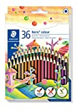 STAEDTLER 185 CD36 ST Buntstift (erhöhte Bruchfestigkeit, Sechskantform, attraktives...