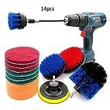 ZHAOSHOP Drill Brush,Power Brush Set Reinigungsbürste Set Bohrmaschine Bürstenaufsatz...