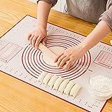 Sinwind Silikonmatte Silikon Backmatte Baking Mat BPA frei Nonstick mit Messungen Fondant Teig...