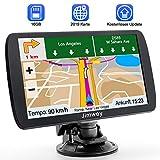 Navigation für Auto Navigationsgerät GPS Navi LKW PKW Navigationssystem 9 Zoll 16GB Lebenslang...