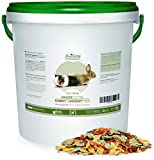 AniForte Natur Nagerfutter 10 Liter für Nager, Hamster, Meerschweinchen, Kaninchen - Artgerechtes...