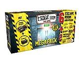 Noris - Escape Room Mega Pack - Familien und Gesellschaftsspiel für Erwachsene, inkl. 8 Fällen und...