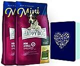 HappyDog Supreme Mini Africa 2 x 4 kg und 1 x Happy Dog Schmuckdose