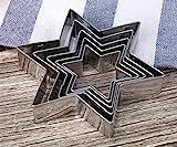 Backen-Werkzeuge Hexagon Food Grade Edelstahl-Biskuit-Form DIY-Kuchen-Form
